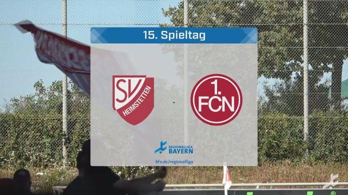 SV Heimstetten - 1. FC Nürnberg II, 0:0