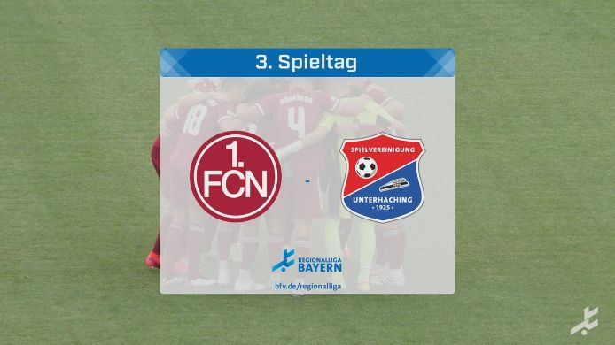 1. FC Nürnberg II - SpVgg Unterhaching, 5:1