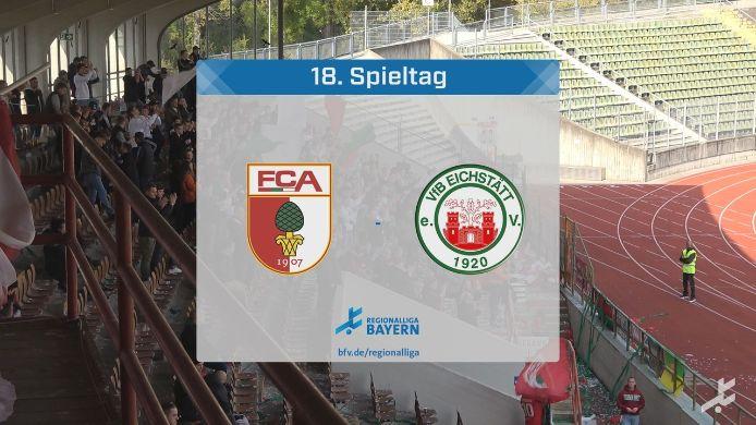 FC Augsburg II - VfB Eichstätt, 2:0