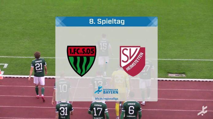 1. FC Schweinfurt 05 - SV Heimstetten, 4:0