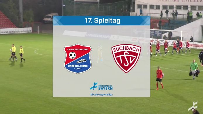 SpVgg Unterhaching - TSV Buchbach, 2:2