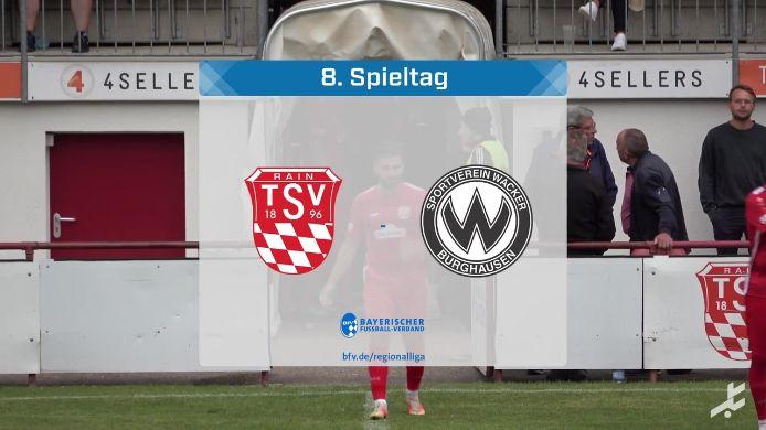 TSV Rain/Lech - SV Wacker Burghausen, 0:4