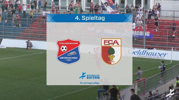 Spvgg Unterhaching - FC Augsburg II, 1:0