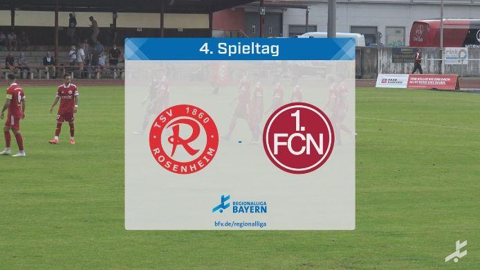TSV 1860 Rosenheim - 1. FC Nürnberg II, 1:0