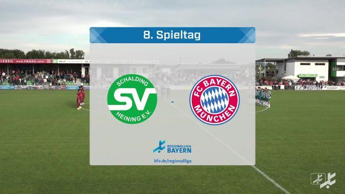 SV Schalding-Heining - FC Bayern München II, 2:1