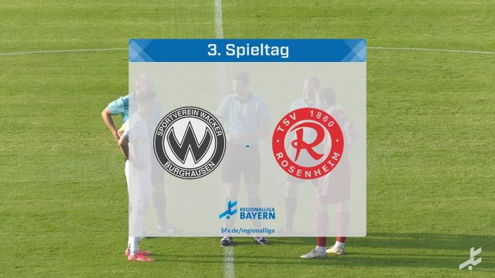 SV Wacker Burghausen - TSV 1860 Rosenheim , 8:0