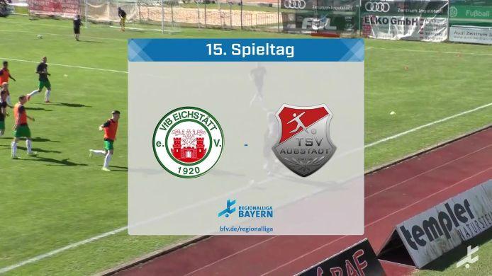 VfB Eichstätt - TSV Aubstadt, 2:1