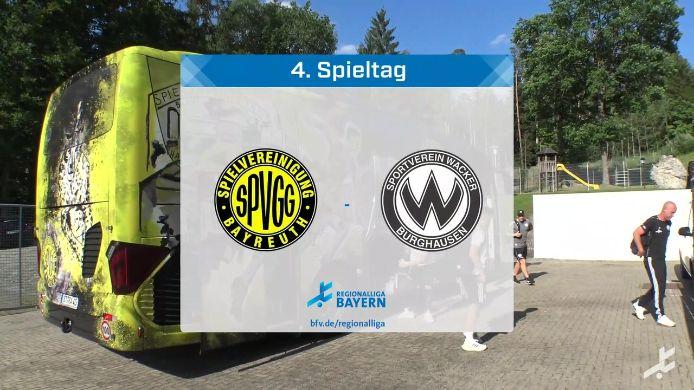 SpVgg Bayreuth - SV Wacker Burghausen, 2:3