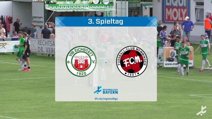 VfB Eichstätt - FC Memmingen, 3:2