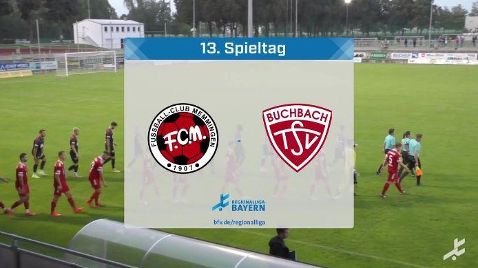 FC Memmingen - TSV Buchbach, 0:1