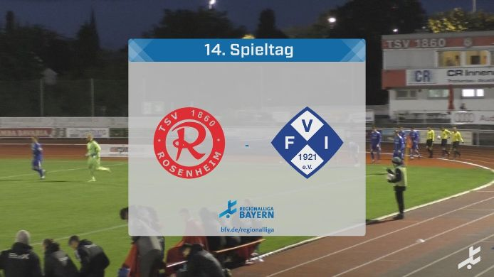 TSV 1860 Rosenheim - FV Illertissen, 0:3