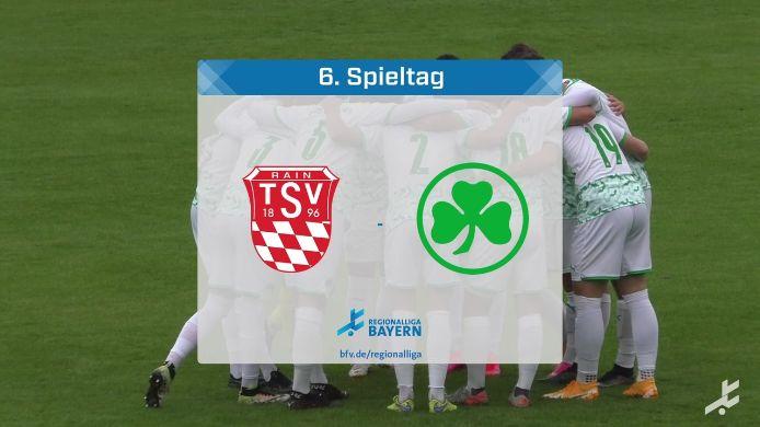 TSV Rain/Lech - SpVgg Greuther Fürth II, 2:2