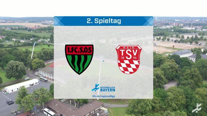 1. FC Schweinfurt 05 - TSV Rain/Lech, 5:1