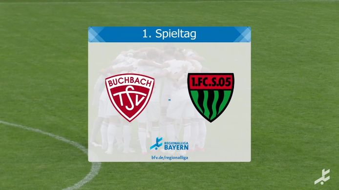 TSV Buchbach - 1. FC Schweinfurt 05, 1:1