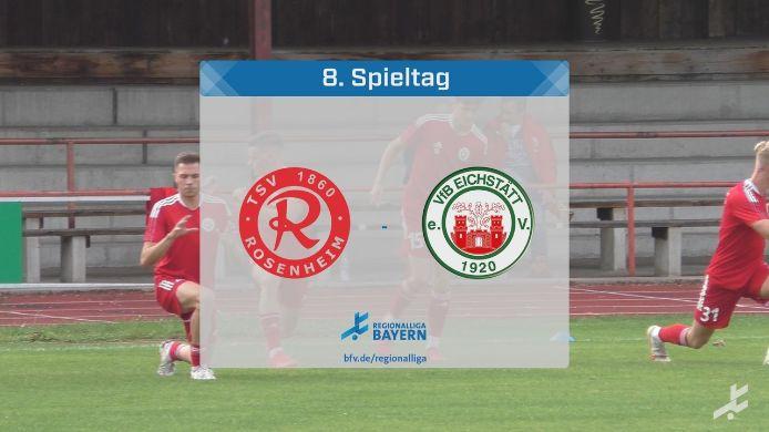 TSV 1860 Rosenheim - VfB Eichstätt, 2:2