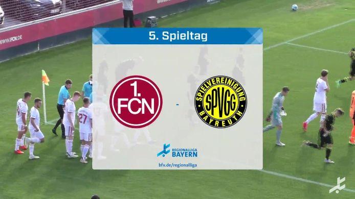 1. FC Nürnberg II - SpVgg Bayreuth, 0:3