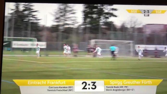 2:3 von Devin Angleberger SpVgg Greuther Fürth