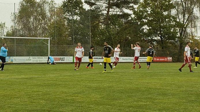 TSV Theuern - FC Amberg II 1:0 (16.), 2:3
