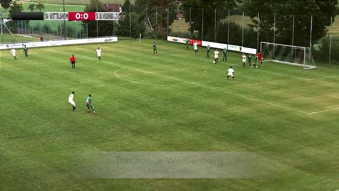 SV Wettelsheim - TSV 1860 Weißenburg U 23 II
