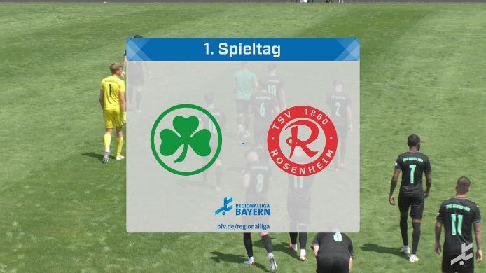 SpVgg Greuther Fürth II - TSV 1860 Rosenheim, 1:1