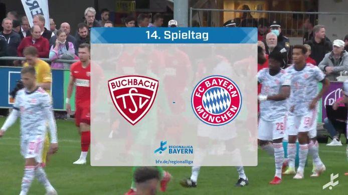 TSV Buchbach - FC Bayern München II, 2:2