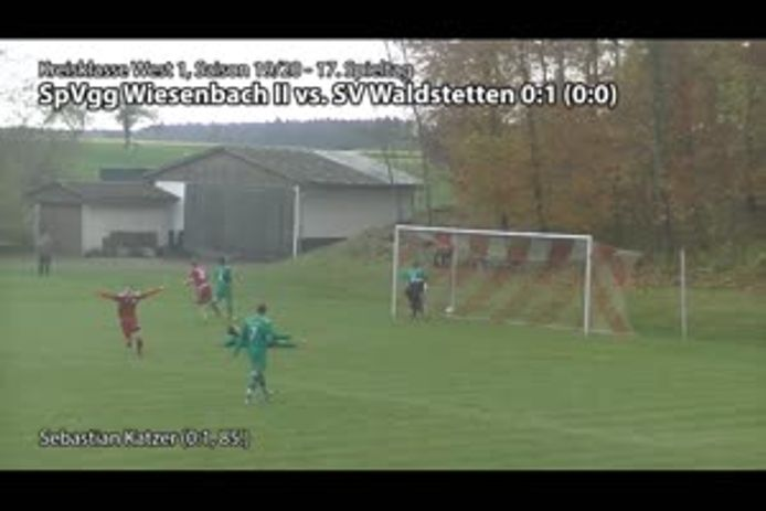 SpVgg Wiesenbach II vs. SV Waldstetten