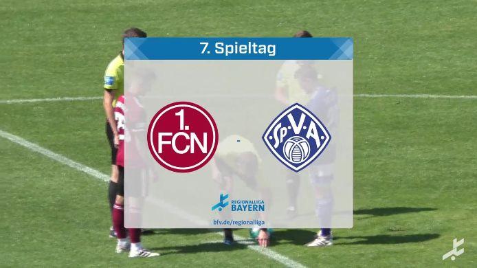1. FC Nürnberg II - SV Viktoria Aschaffenburg, 3:1