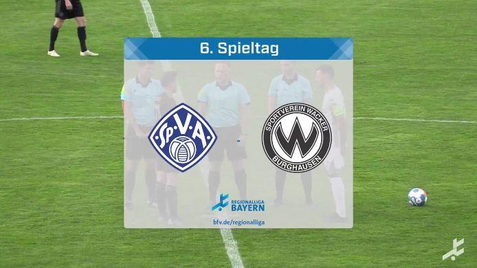 SV Viktoria Aschaffenburg - SV Wacker Burghausen, 3:1