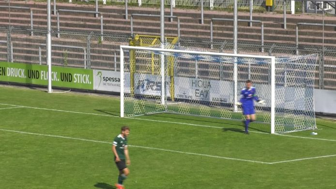 Ligapokal: Aschaffenburg - Schweinfurt 05 (0:3)