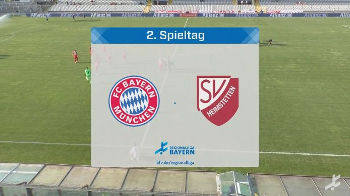 FC Bayern München II - SV Heimstetten, 1:0