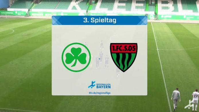 SpVgg Greuther Fürth II - 1. FC Schweinfurt 05, 1:4