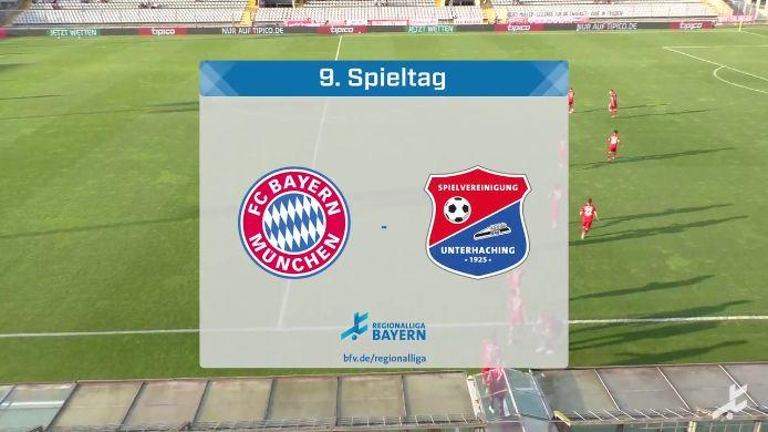 FC Bayern München II - SpVgg Unterhaching, 5:1