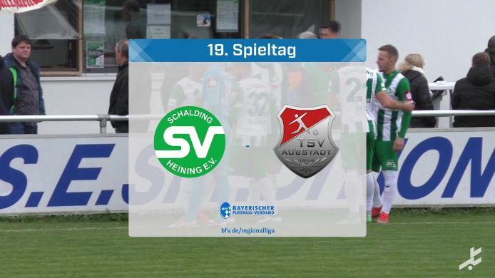 SV Schalding-Heining - TSV Aubstadt, 0:3