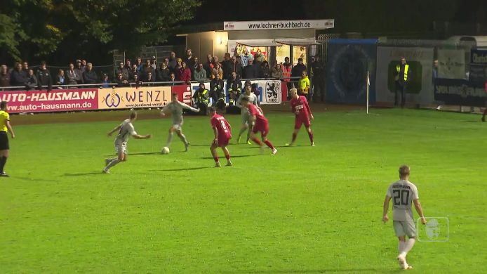 Totopokal TSV Buchbach - TSV 1860 München, 2:3