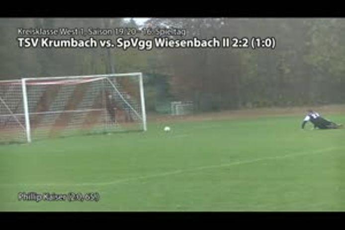 TSV Krumbach vs. SpVgg Wiesenbach II