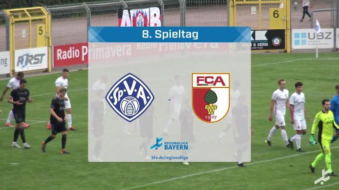 SV Viktoria Aschaffenburg - FC Augsburg II, 2:1