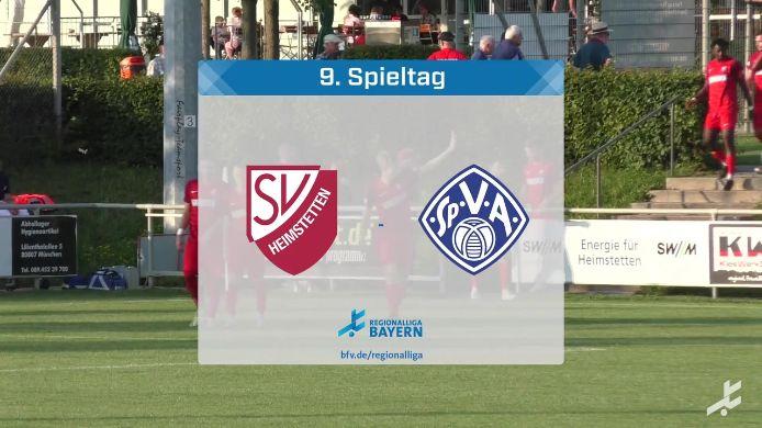 SV Heimstetten - SV Viktoria Aschaffenburg, 4:0