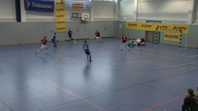 Gruppenspiel gegen SpVgg SV Weiden