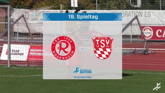 TSV 1860 Rosenheim - TSV Rain/Lech, 1:0