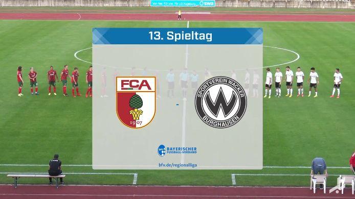 FC Augsburg II - SV Wacker Burghausen, 3:1