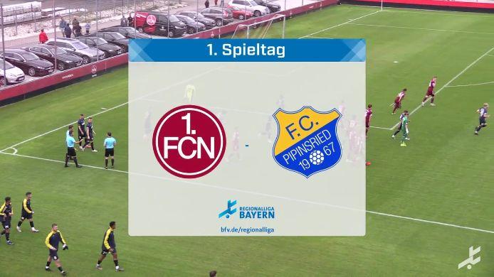 1. FC Nürnberg II - FC Pipinsried, 2:2