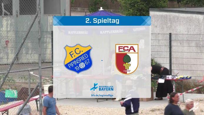 FC Pipinsried - FC Augsburg II, 3:1