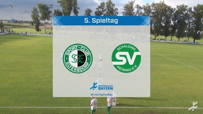 SC Eltersdorf - SV Schalding-Heining, 1:1