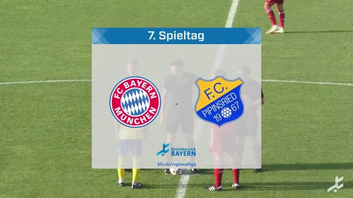 FC Bayern München II - FC Pipinsried, 6:1