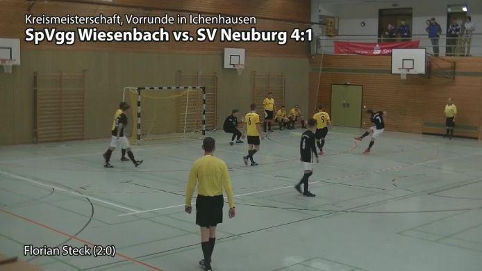 SpVgg Wiesenbach - SV Neuburg/Kammel