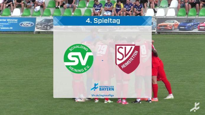 SV Schalding-Heining - SV Heimstetten, 0:0