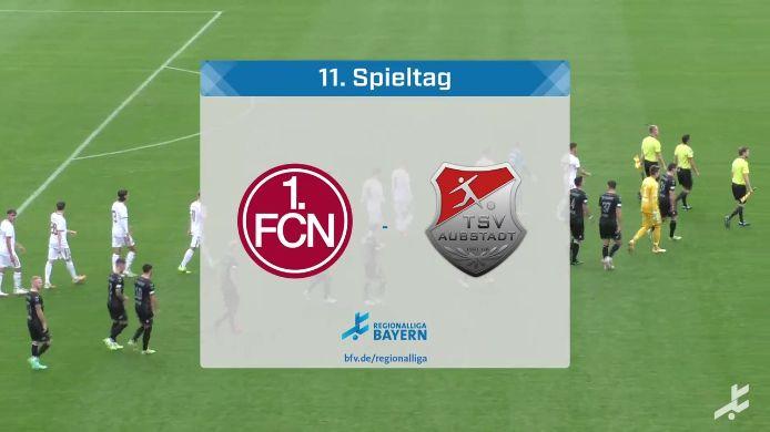 1. FC Nürnberg II - TSV Aubstadt, 1:1