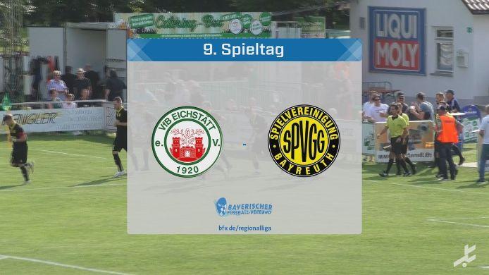 VfB Eichstätt - SpVgg Bayreuth, 1:3