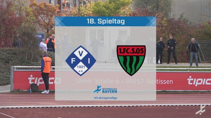 FV Illertissen - 1. FC Schweinfurt, 1:1