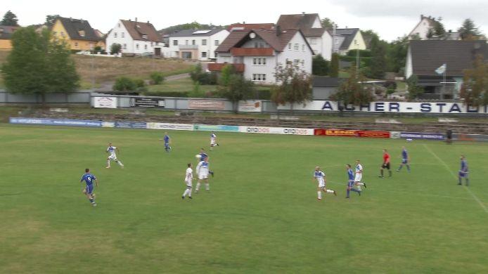 2 Tore vom Spiel  TuS Rosenberg gegen SV Etzenricht, 0:2